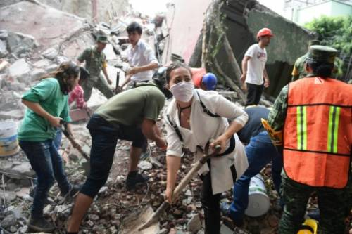Nearly 230 killed in powerful Mexico quake